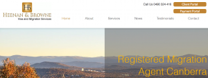 Heenan & Browne Visa and Migration Services in Canberra
