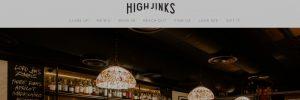 High Jinks Bar in Canberra