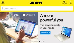 JB Hi-Fi City Electronics Store in Melbourne
