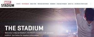 Marvel Stadium in Melbourne