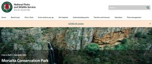 Morialta Conservation Park Hiking Trail in Adelaide