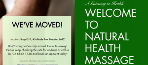 Natural Health Massage Acupuncture Clinic in Canberra