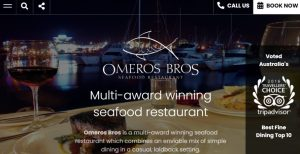 Omeros Brothers Seafood Restaurant in Gold Coast