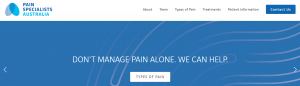 Pain Specialists Australia in Melbourne