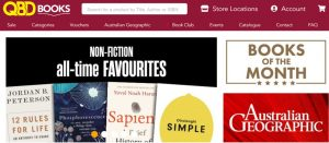 QBD Books in Gold Coast