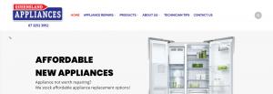 Queensland Appliances Refigerator Store in Brisbane