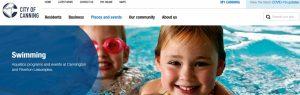 Riverton Leisureplex Swimming Pool in Perth