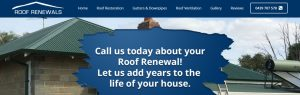 Roof Renewals in Perth