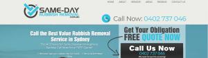 Same-Day Rubbish Removal in Sydney