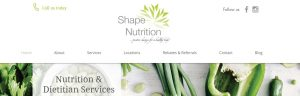 Shape Nutrition Dieticians in Gold Coast