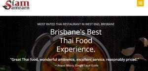 Siam Samrarn Thai Restaurant in Brisbane