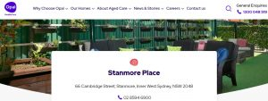 Stanmore Place Care Community in Sydney
