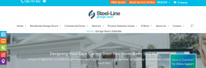 Steel-Line Garage Doors in Adelaide