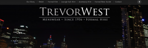 Trevor West Menswear & Formal Hire in Melbourne