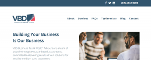 VBD Business, Tax & Wealth Advisers in Newcastle