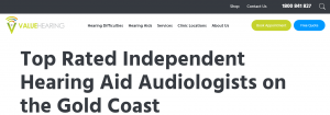 Value Hearing Audiology Practice in Gold Coast