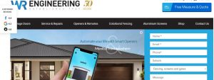 WR Engineering Fencing Contractors in Canberra