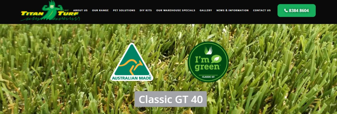 Suppliers of Adelaide artificial grass