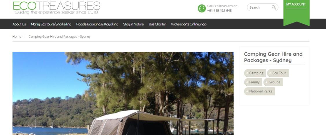 Hire camping gear Australia