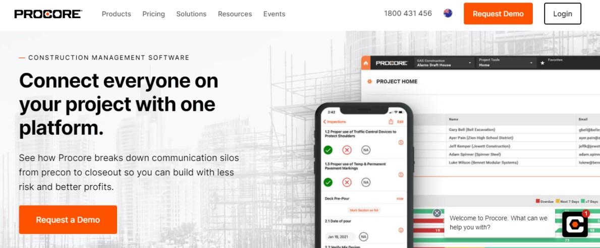 Software Australia construction management