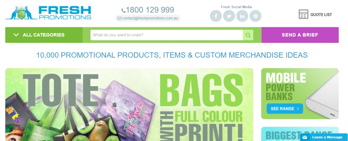 Merchandisers for promo Australia