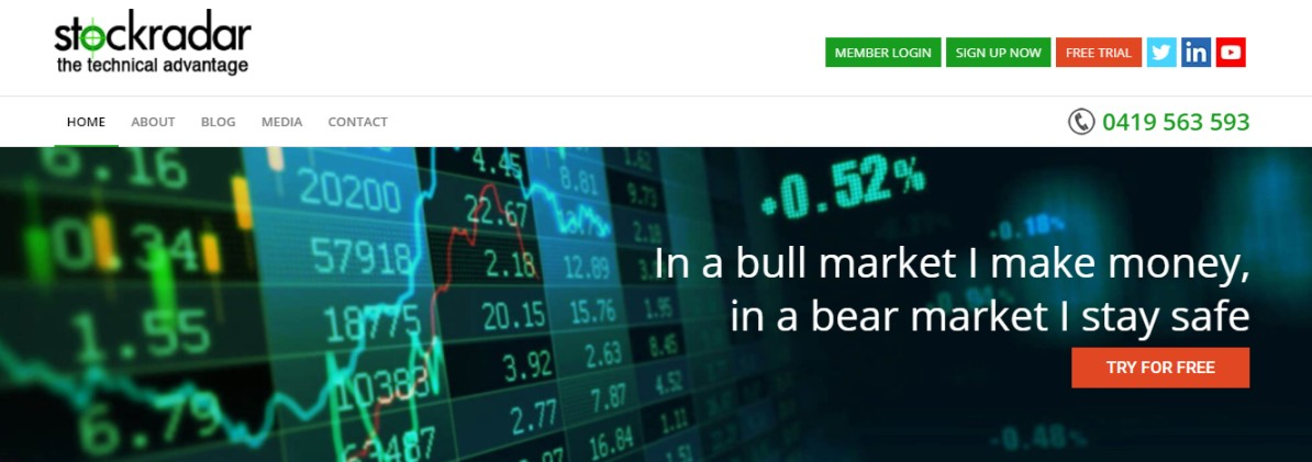 Stock market reporting services