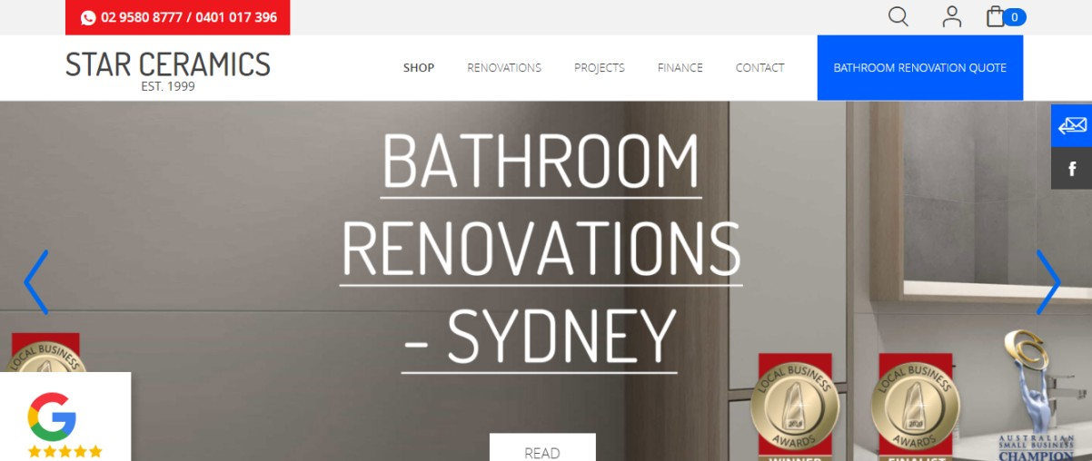 Sydney bathroom renovation service