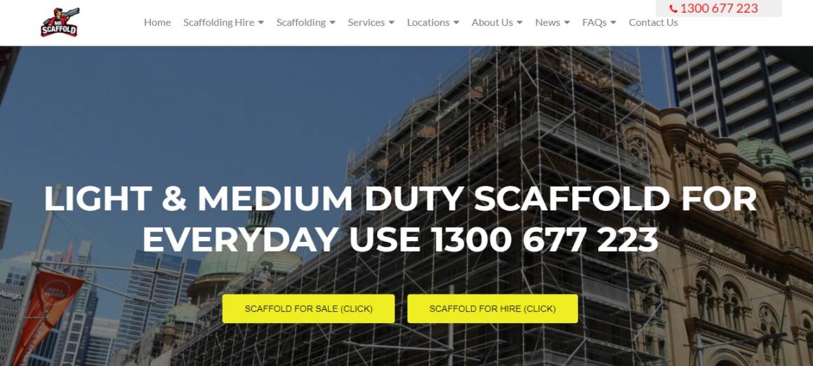 Scaffolding suppliers Australia best