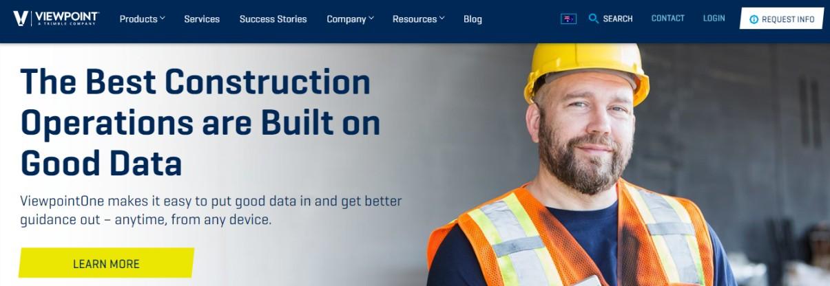 Companies construction management software