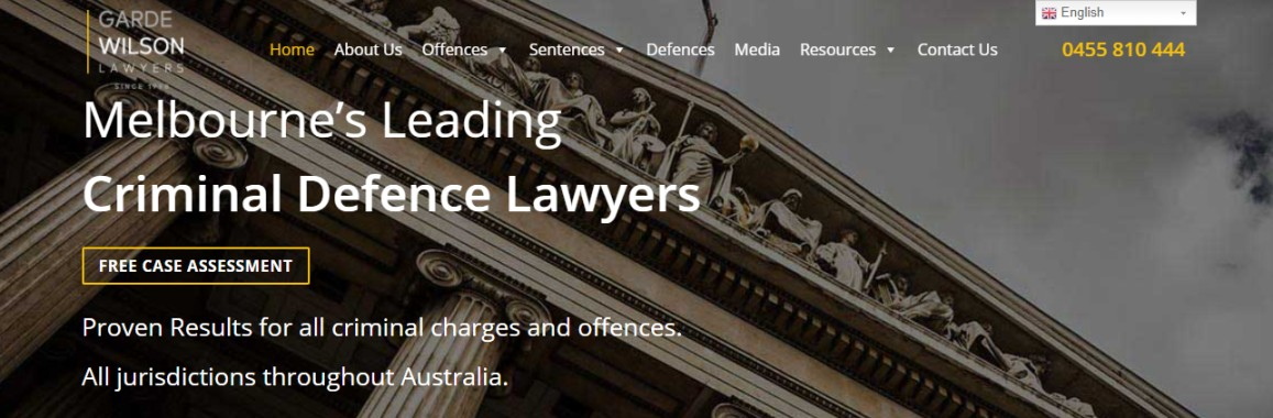 Melbourne criminal law