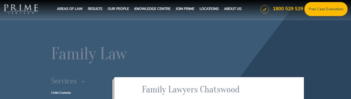 Hire Chatswood family lawyer