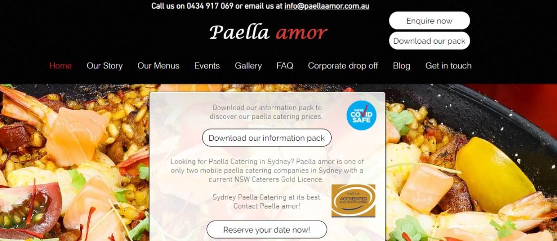 Sydney paella caterers