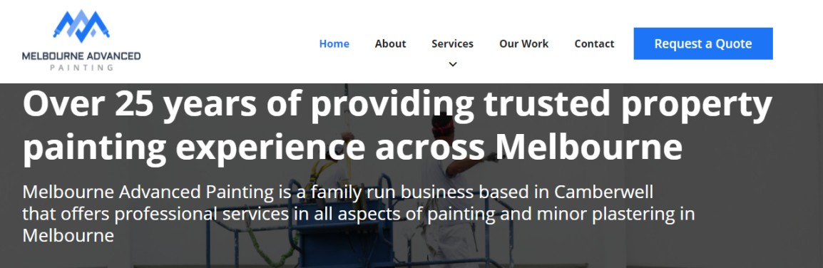 Services in Melbourne painting