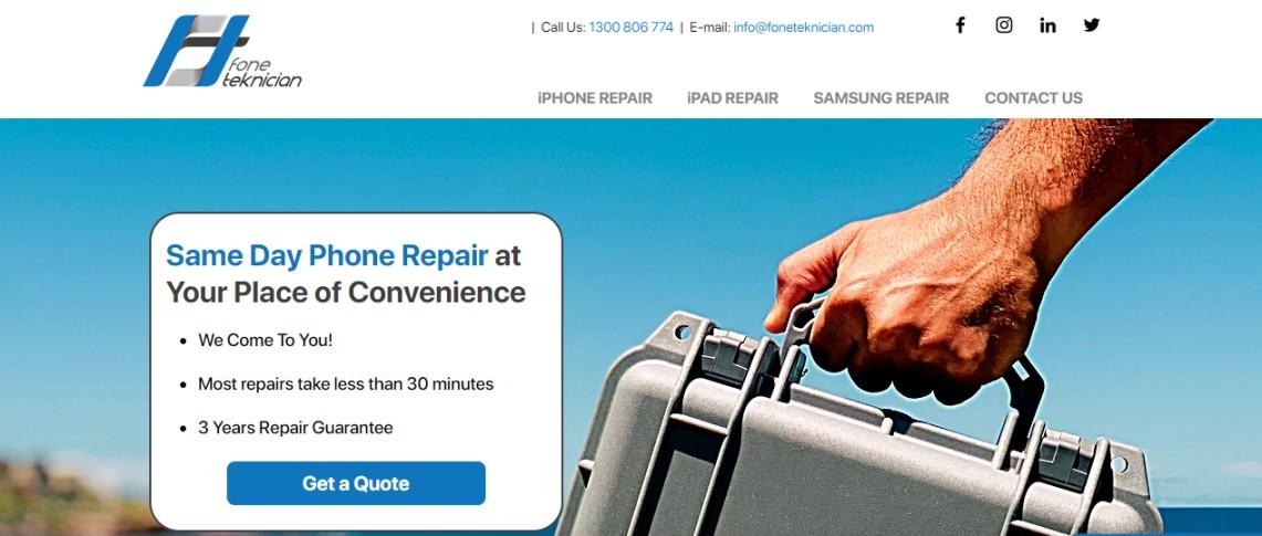 Australia phone repair shops