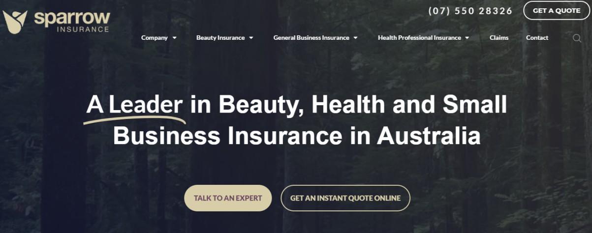 Australian salon insurance