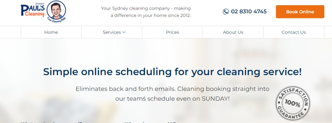 Cleaners in Sydney commercial