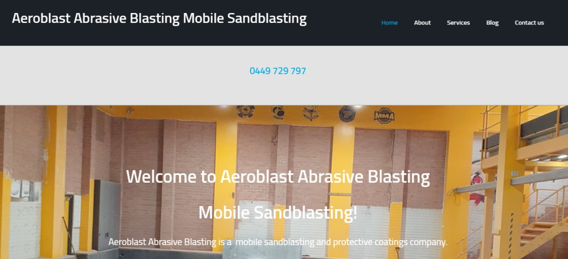 Sandblasting in Sydney