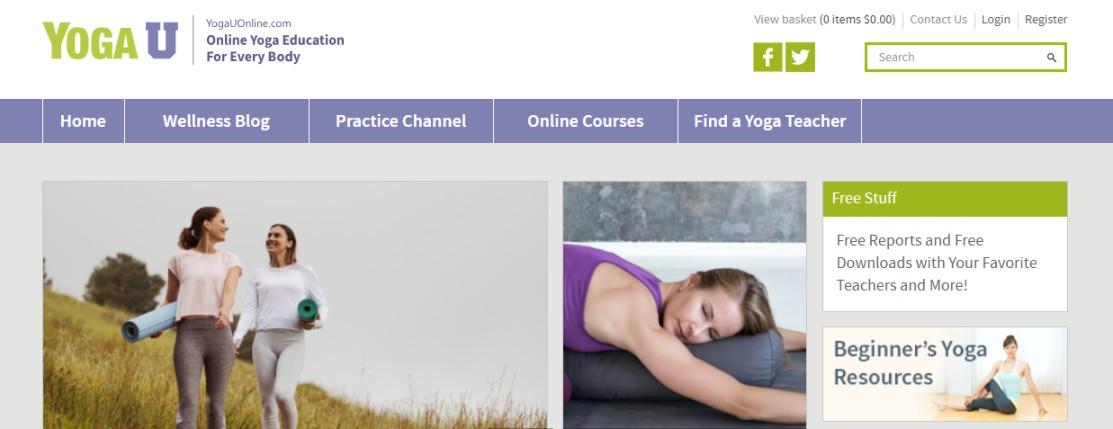 Teaching courses online yoga
